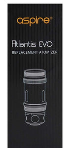Aspire Atlantis Evo replacement coil .5 ohm