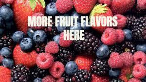 Fruit flavored e-liquid at Lakeshore Vapors in Muskegon Michigan