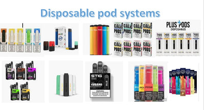 disposable pod systems