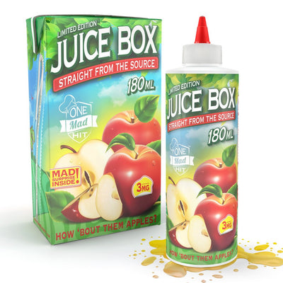 Juice Box 180ML How Bout Those Apples- Limited Edition