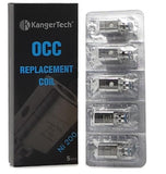 Kanger OCC TC .15 replacement coils 5 Pack