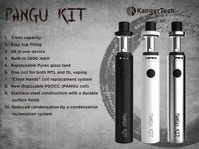 Kanger Pangu Aio  White Color