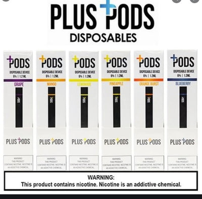 plus pods 400 puffs