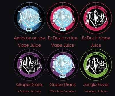 Ruthless E-Liquid120ml