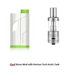 Eleaf iKonn Total Mod with Horizon Tech Arctic Tank