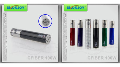 Carbon Fiber 100 Watt Battery at Lakeshore Vapors