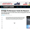 Runner's World: 10 High-Performance Socks for Runners