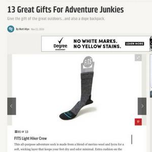 Popular Mechanics: Great Gifts for Adventure Junkies