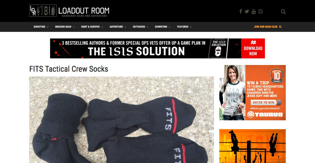 fits tactical socks featured in loadoutroom.com