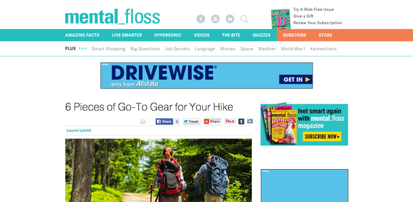 fits socks must have camping gear in mental floss