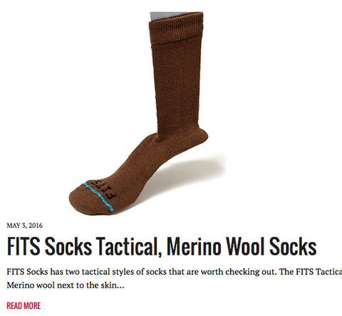 fits gear review on military.com for tactical socks