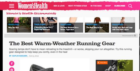 womens health votes fits best warm weather running sock