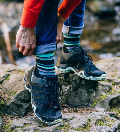 Medium Hiker (Striped) - Crew