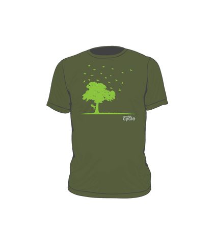 Centraal Cycle Tree T- Shirt