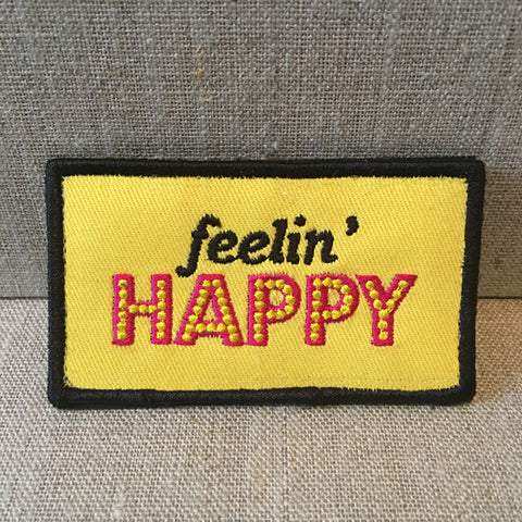 """Feelin Happy"" patch"