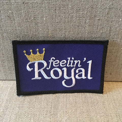 """Feelin Royal"" patch"