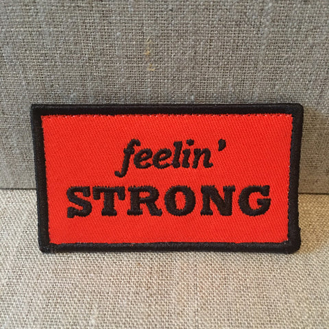 """Feelin Strong"" patch"
