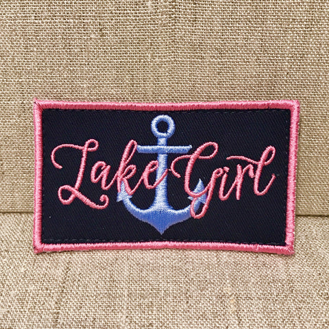 """Lake Girl"" Patch"