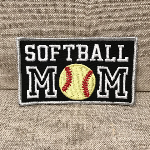 """Softball Mom"" Patch"