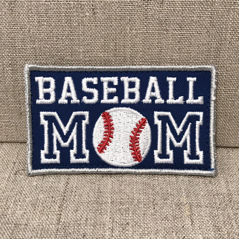 """Baseball Mom"" Patch"