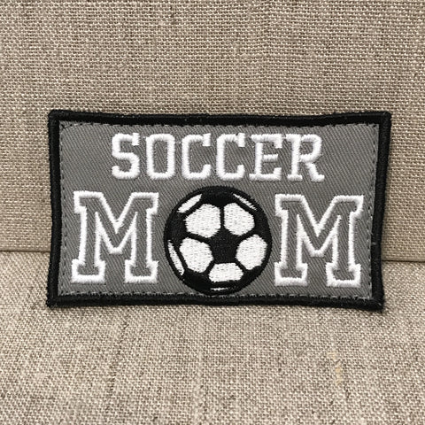 """Soccer Mom"" Patch"