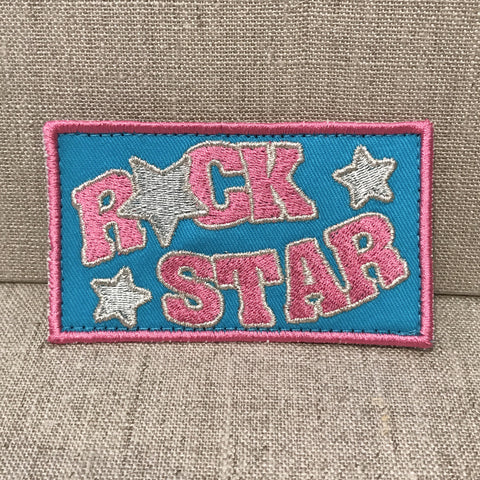 """Rock Star"" Patch"
