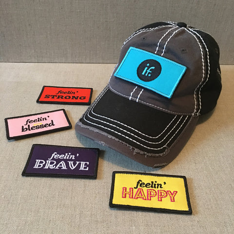 Inner Feelings Starter Set:  Signature Hat with 5 Interchangeable Patch Designs