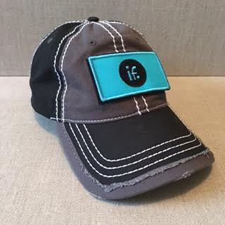 "Inner Feelings Signature Hat with signature interchangeable ""IF"" patch"