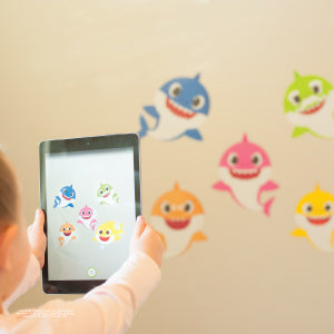 Baby Shark Augmented Reality Decal
