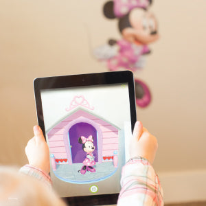 Minnie Mouse Augmented Reality Decal