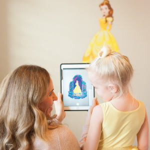 Disney Belle Augmented Reality Wall Decal