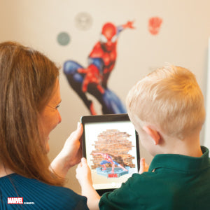 Spider-Man Augmented Reality Wall Decal