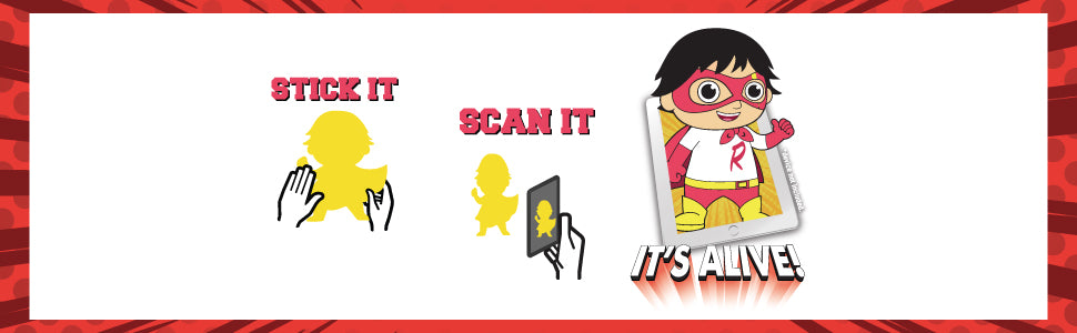 Stick It - Scan It - It's Alive!