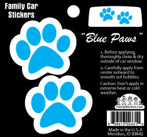 Blue Paws - Color Accents