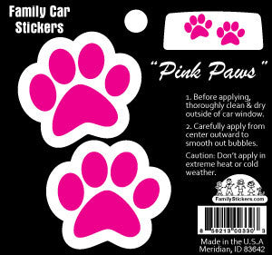 Pink Paws - Color Accents