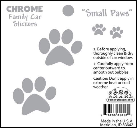 Small Paws - Chrome