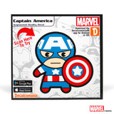 Captain America Kawaii Sticker