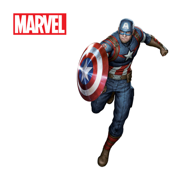 JS709 Details about  /Avengers Endgame Captain America Custom Wall Decals 3D Wall Stickers Art