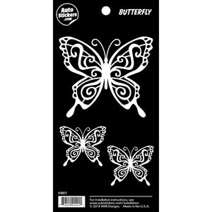 "Butterfly Sticker - 4"" x 8"""
