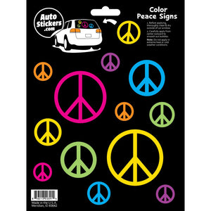 Color Peace Signs