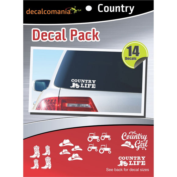 Country Stickers - Value Kit