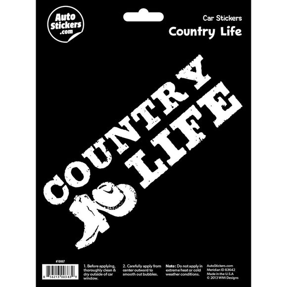 Country Life Decal