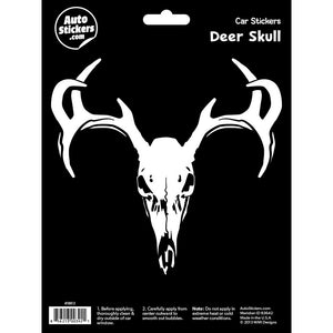 Deer Skull Car Sticker Decal