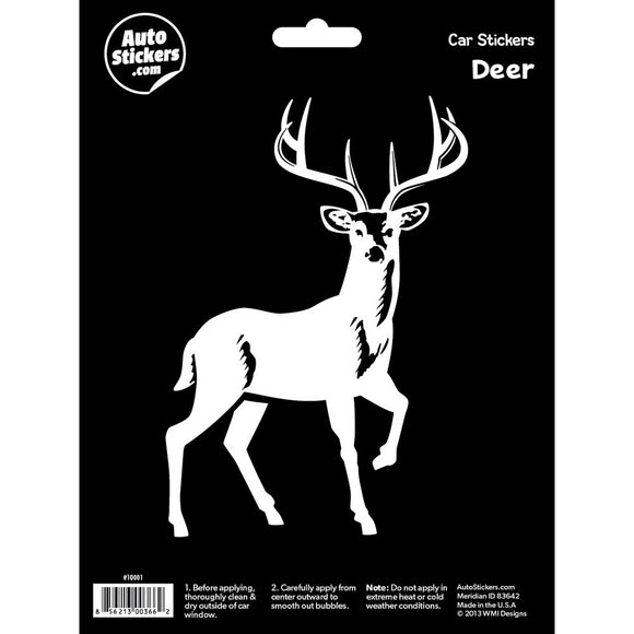 Deer Car Sticker Decal