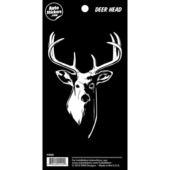 Deer Head Sticker - 4