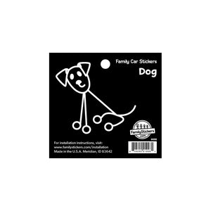 Dog Family Car Sticker