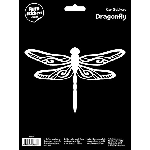 Dragonfly Car Sticker Decal
