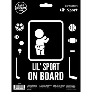 Lil' Sport on Board Decal