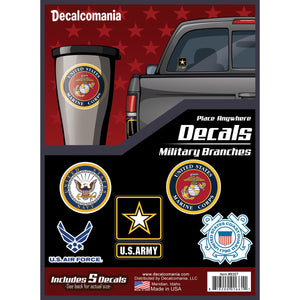 Military Branches Logo Decals