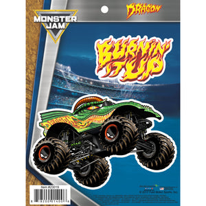 Monster Jam Dragon Truck Decals